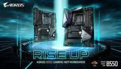Gigabyte presents its B550 motherboards, lead by the B550 Aorus Master