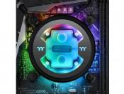 Thermaltake Releases  water block whose color changes alongside cooland temps