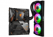 Gigabyte preps lovely looking Z490 Aorus Master Waterforce based on AIO loop (updated)