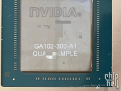 NVIDIA Ampere GA102-300-A1 GPU (GeForce RTX 3090) Caught on Camera