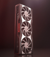 This is what the Radeon RX 6000 looks like