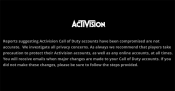 500,000 Activision accounts could have been hacked, although the company denies it.