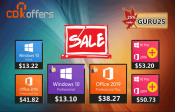 Advertorial: Windows 10 Pro + Office 2019 to $50 thanks to this coupon of CDKoffers (9/10/2020)