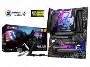 Z490 mother with mono water block MSI MPG Z490 CARBON EK X is now out