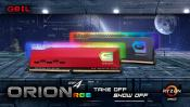 GeIL Announces the Availability of ORION RGB Gaming Memory for Ryzen and Intel