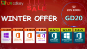 Advertorial: URcdkey Winter Deals: MS Office 2016 for 5PCs for $68 plus more deals here