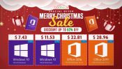 Advertorial: Christmas Sale – Windows 10 Pro $7.43, Office 2019 Pro $28.96 and more