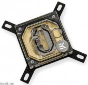 EK Adds Gold Plated EK-Supremacy Water Block to Lineup