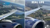 See for yourself how close Microsoft Flight Simulator is to real life in visuals