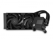 EK To Offer All Black Entry All-in-One Water Cooling EK-AIO Basic Series (RGB free)