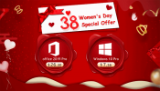 Advertorial: U2KEY 38-Women Day Gifts - Windows 10 Pro with $7.56 and Office 2019 Pro with $26.30