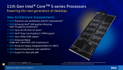 Intel Announces their Rocket Lake-S Desktop CPUs
