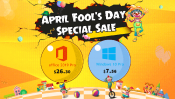 Advertorial U2Keys: April Fools Day 10 Pro for $7.56 and Office 2019 Pro for $26.30