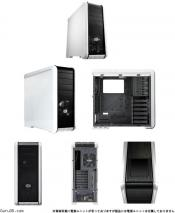 Cooler Master CM 690 II Plus Black & White Edition Mid-Tower PC Case