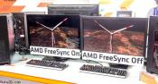 AMD Shows First Displays with FreeSync Support