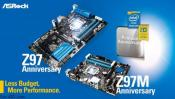 ASRock Z97 Anniversary series for Pentium Anniversary Edition