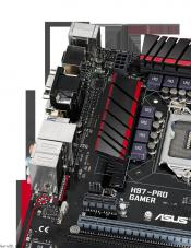 ASUS Launches H97-Pro Gamer Motherboard