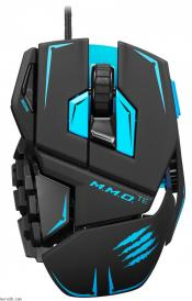 Mad Catz M.M.O.Te Tournament Edition Gaming Mouse for PC and Mac