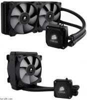 Corsair Hydro H80i and H100i sealed liquid coolers