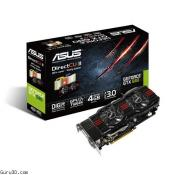 ASUS GeForce GTX 680 4GB with Dual-Slot DirectCU II Cooler