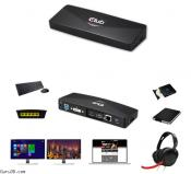 Club 3D Offers 4K USB 3.0 Docking Station