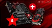 MSI offers cashback when buying Motherboard Graphics Card Combo