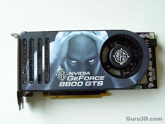 GeForce 8800 GTS Amp GTX Review
