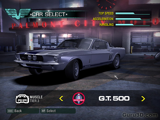 Need For Speed: Carbon PC review - Guru3D 2006