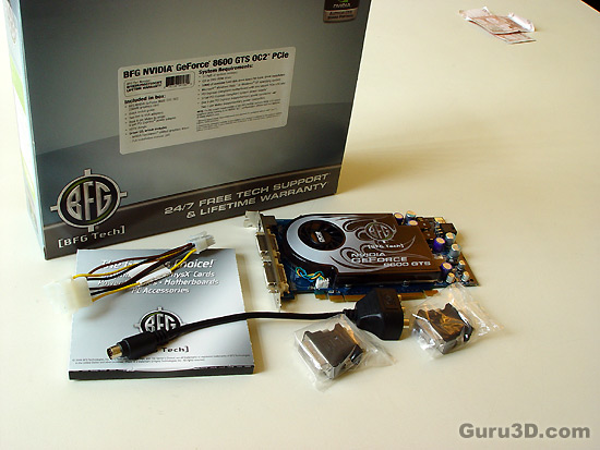 BFG GeForce 8600 GTS OC2 graphics card review