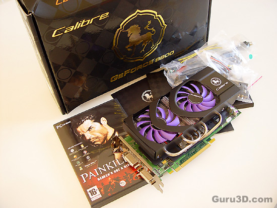 Sparkle Calibre p880lv GeForce 8800 GTS 320 MB