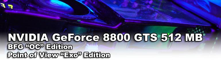 GeForce 8800 GTS 512MB BFG &