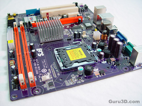 ECS ecs-g31-tm mainboard review