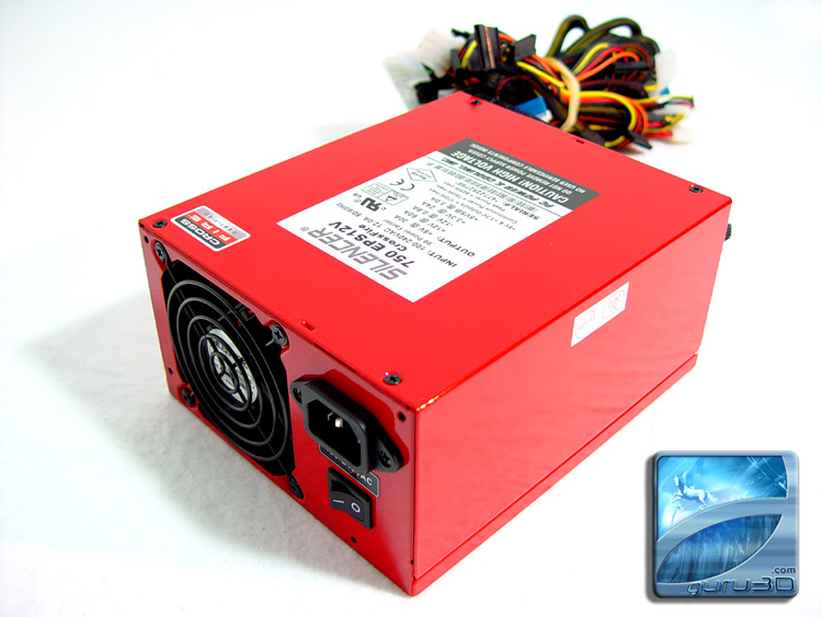 OCZ PC Power & Cooling Silencer 750 Watt PSU
