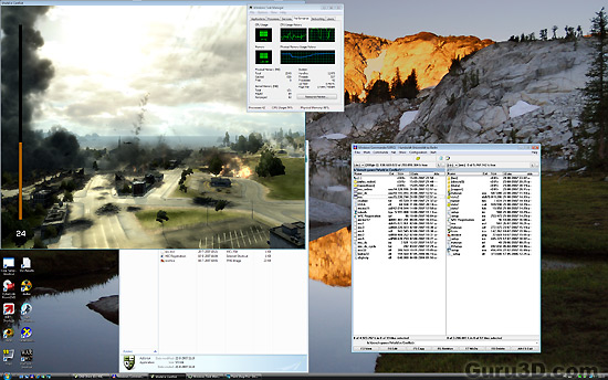 World in Conflict Graphics (PC) Performance overview