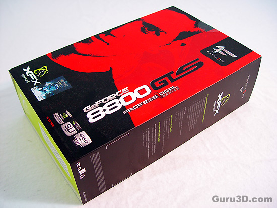 XFX GeForce 8800 GTS 320 MB Fatal1ty edition
