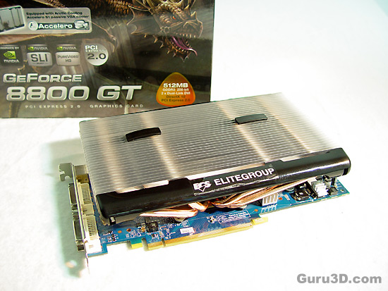 ECS Geforce 8800 GT Dual Turbo review