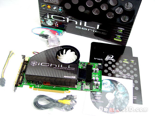Inno3D GeForce 8800 GT iChill edition review - 2 - Specifications ...
