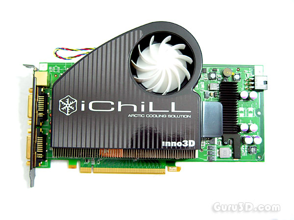 Inno3D GeForce 8800 GT 512MB iChill edition