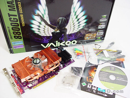vvikoo GeForce 8800 GT MAX 1024 MB
