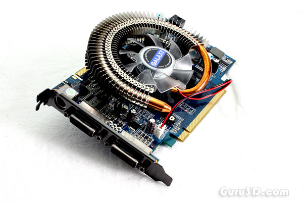 GeForce 9500 GT review - 5 - Photo's - even more