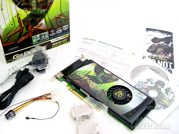 XFX GeForce 9600 GT XXX edition