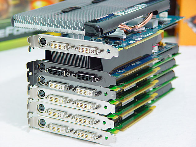 GeForce 9600GT shootout