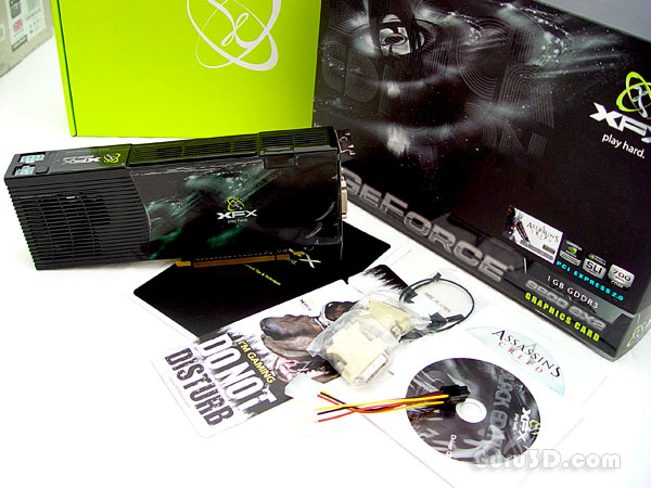 XFX GeForce 9800 GX2 Black edition