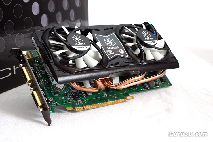 Inno3D IChill GeForce 9800 GT Dual Turbo