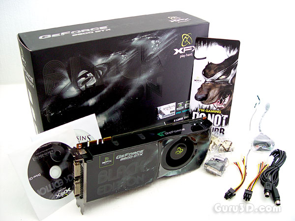 XFX GeForce 9800 GTX Black Edition