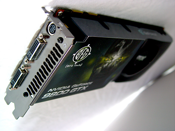BFG GeForce 9800 GTX OCX  review