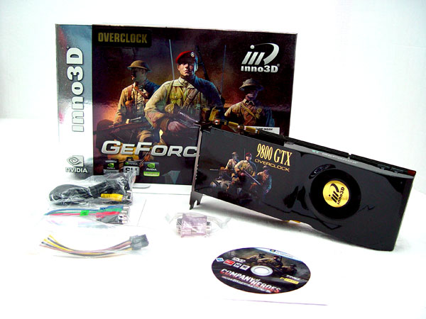Inno3D GeForce 9800 GTX OC Review