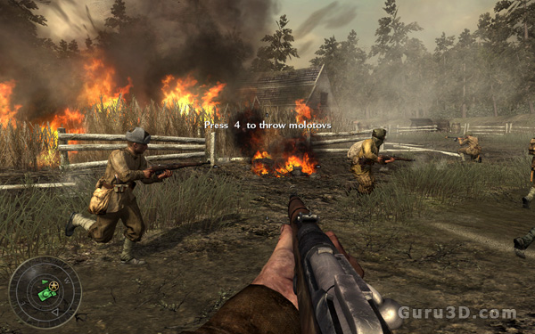 Call of Duty World at War PC VGA performance