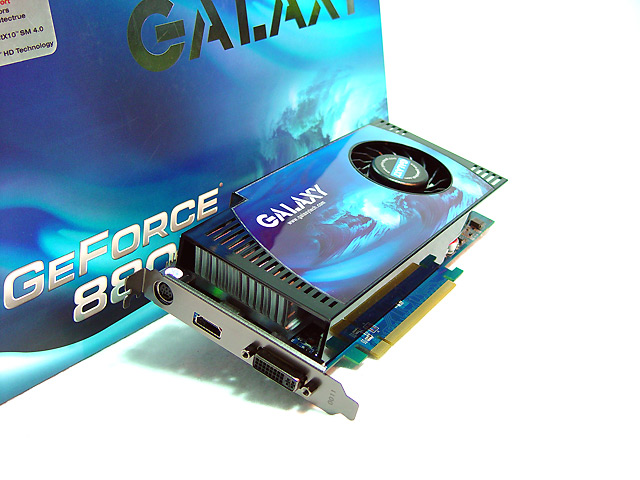 Galaxy GeForce 8800 GT 512 MB review