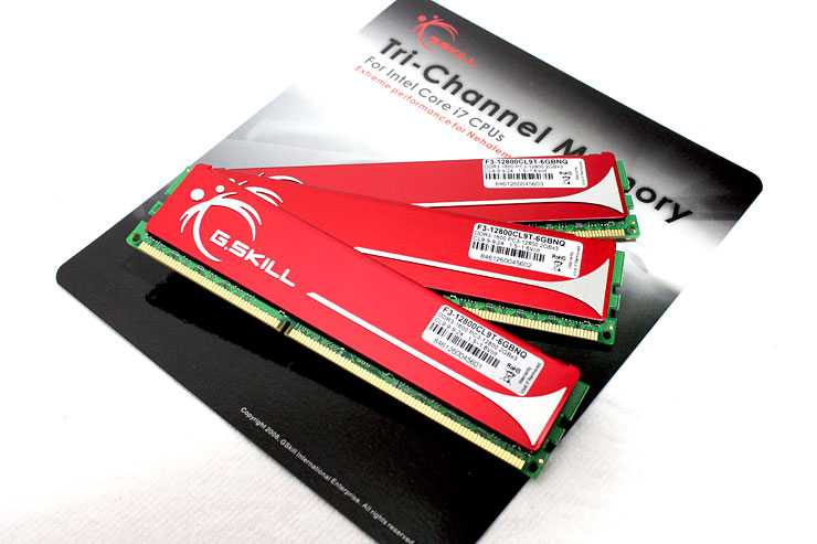 G.Skill DDR3 Triple Channel Memory kit